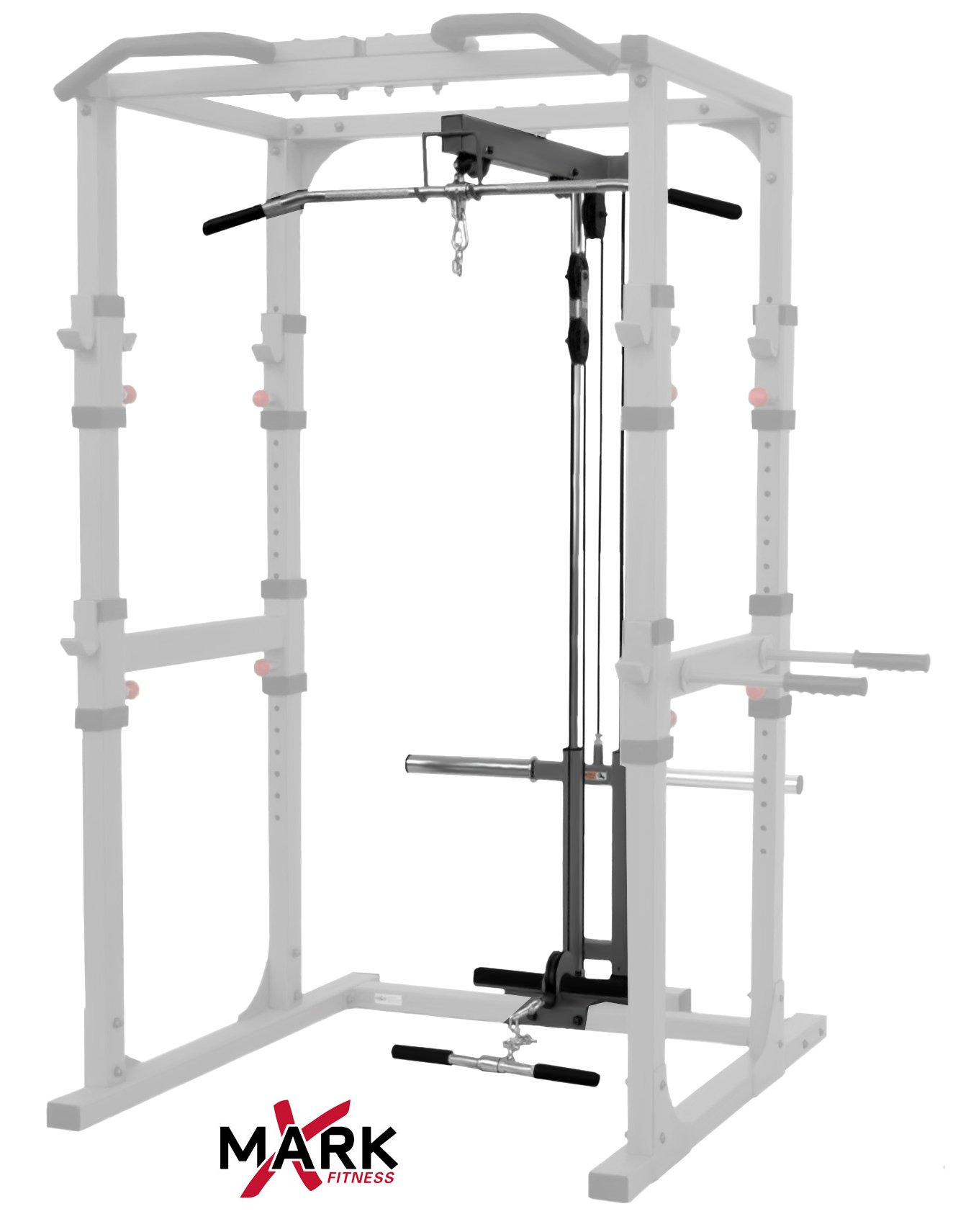 XMark Power Cage Lat Pulldown and Low Row Attachment XM-7621