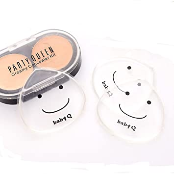 Cosmetic Puff Silicone Sponge Makeup Puff For Liquid Foundation Bb Cream Beauty Essential