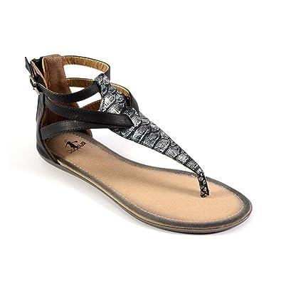 d78f9de81533fc Corkys New Fisherman Silver 6 Womens Sandals