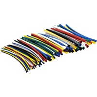 G&S 3 mm Polyolefin Heat Shrink-Tube Sleeve for Wrap (Red, Blue and Green, 1+1+1m)