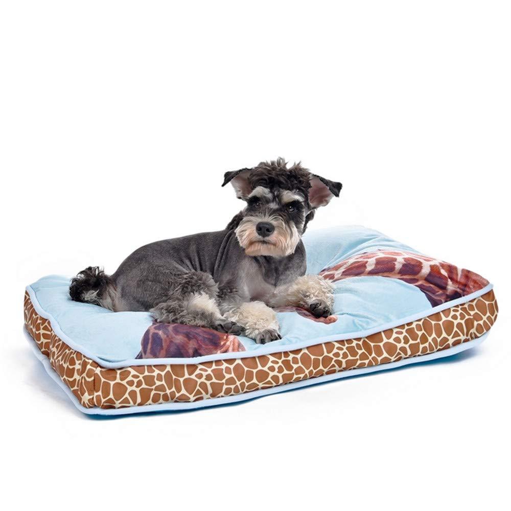 están haciendo actividades de descuento S S S Wuwenw 3D Print Pet Bed Jirafa Leopard   Zebra Soft Cozy Dog Cat Sofa Moda Paiting   Road, S  Con precio barato para obtener la mejor marca.