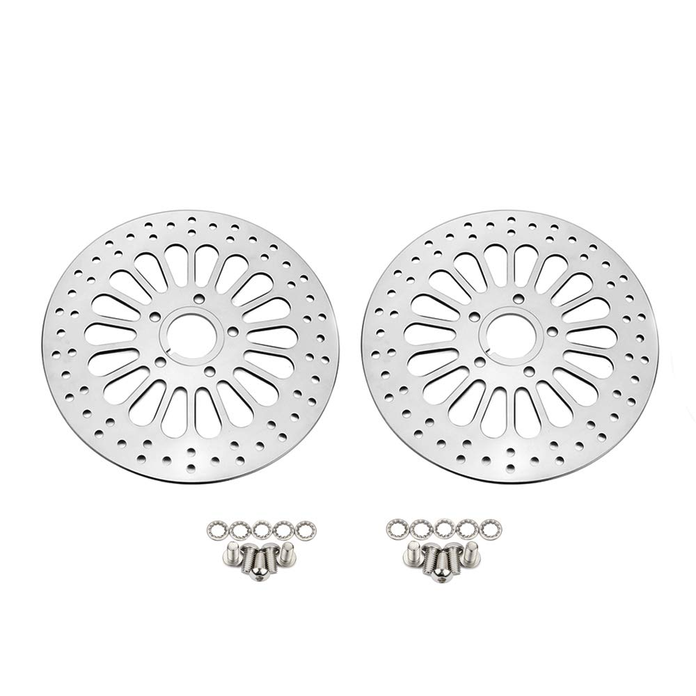 11.5 Front Brake Disc Rotor Stainless Steel For Harley Touring Softail Sportster Dyna 1984-2013 Except 2008-2013 Touring Models