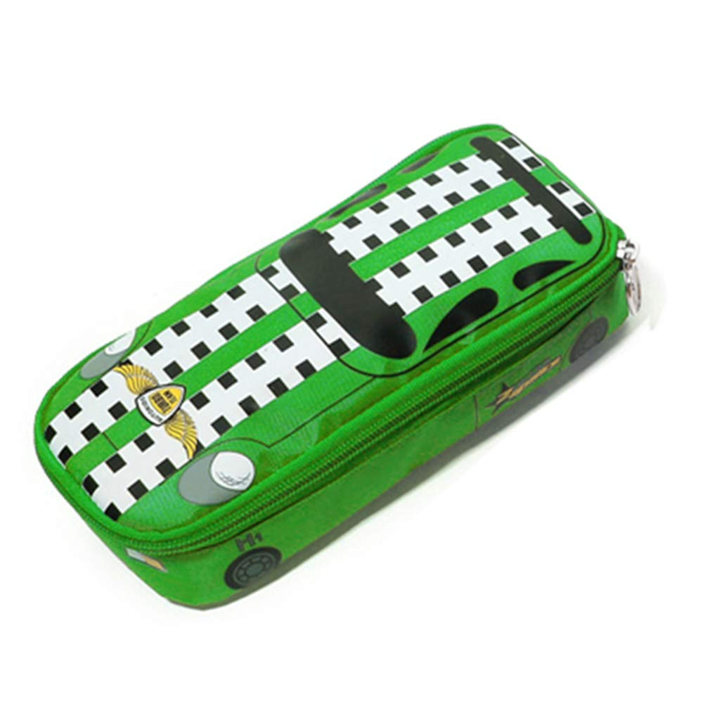 Big Capacity 3D Police Car Style Statonery Pencil Case Pen Box Pouch for Students Kids, Jeep(Green)  Price: $7.99 RATING:
