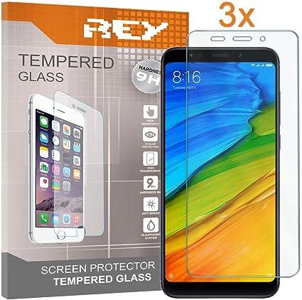 3X Protector de Pantalla para XIAOMI REDMI 5 Plus, Cristal Vidrio Templado Premium: Amazon.es: Electrónica