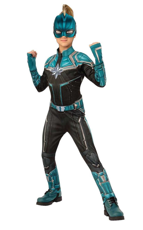 Rubies Marvel Captain Marvel Childs Kree Costume Suit