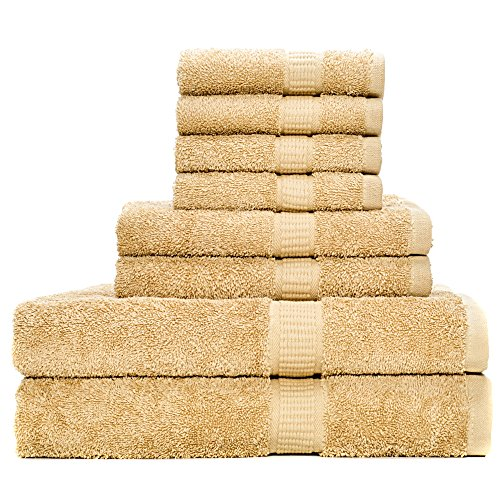 100% Cotton Super Absorbent Bath Towel Set - 9