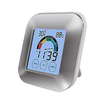 Faylapa Digitales Feuchtigkeits Thermometer Smart Monitor Alarm
