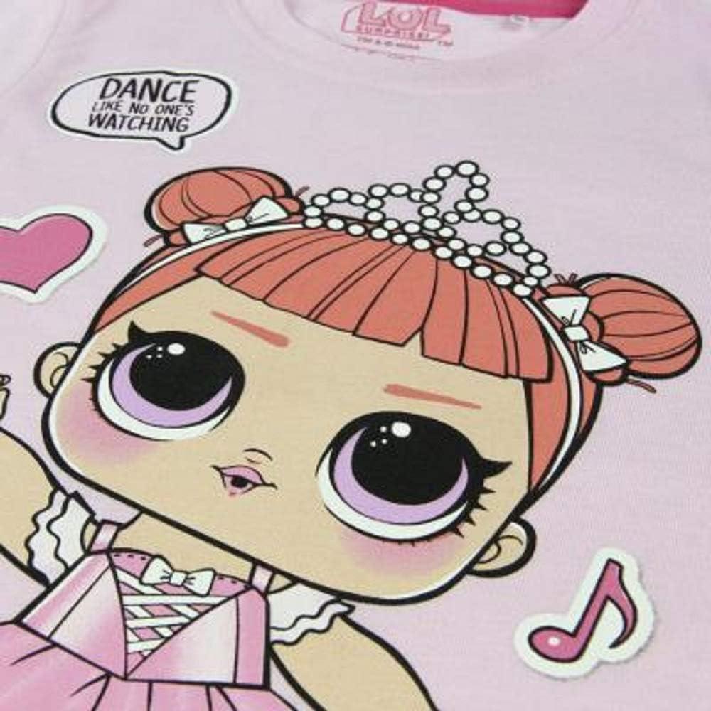 IT Baby e M.C Maglietta per Bambina LOL Dolls con Le Bambole Rocker Vestiti Estivi per Ragazza Misto Cotone Diva Swag L.O.L Surprise BFF Fancy /& Fresh
