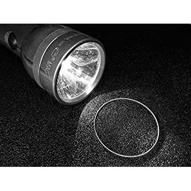 MAGLITE Flashlight lens Crystal Glass Upgrade (C & D Model)