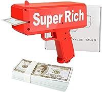 Regala ai tuoi amici feste indimenticabili! Falli felici con la pistola spara soldi. I soldi (finti) sono inclusi!