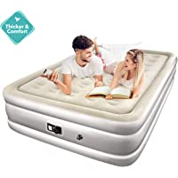 Topelek Queen Air Mattress with Built-in Electric Pump