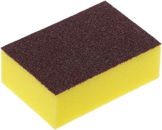Tebatu - Esponja de Limpieza para Disfraz, 9 x 6 x 3 cm, Color Negro