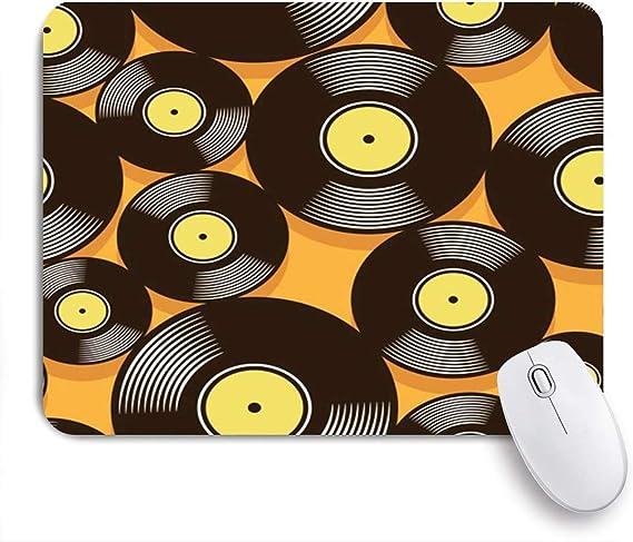 Alfombrilla de ratón audio en mosaico música retro vinilo ...