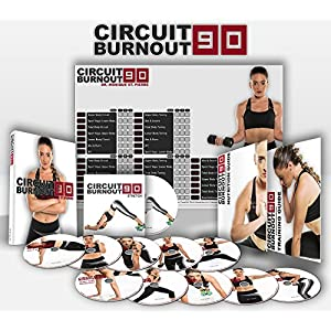 Circuit Burnout 90: 90 Day DVD Workout Program with 10+1 Exercise Videos + Training Calendar, Fitness Tracker &Training Guide and Nutrition Plan 11