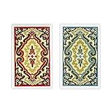 Springbok Kem Paisley Narrow Jumbo Index Playing Cards Jumbo Index Playing Cards