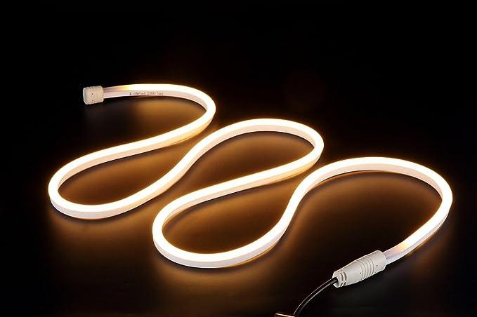 1M neon IP68 led lichtband strip Streife  leds 2M Kabel wasserdicht Dimmbar