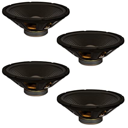 2 Goldwood Sound GW-208//8 OEM 8 Woofers 200 Watts Each 8ohm Replacement Speakers
