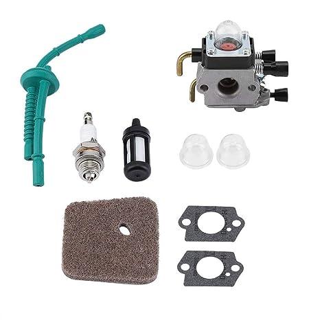 TOPINCN Kit de reemplazo de carburador para STIHL FS55 FS55R ...