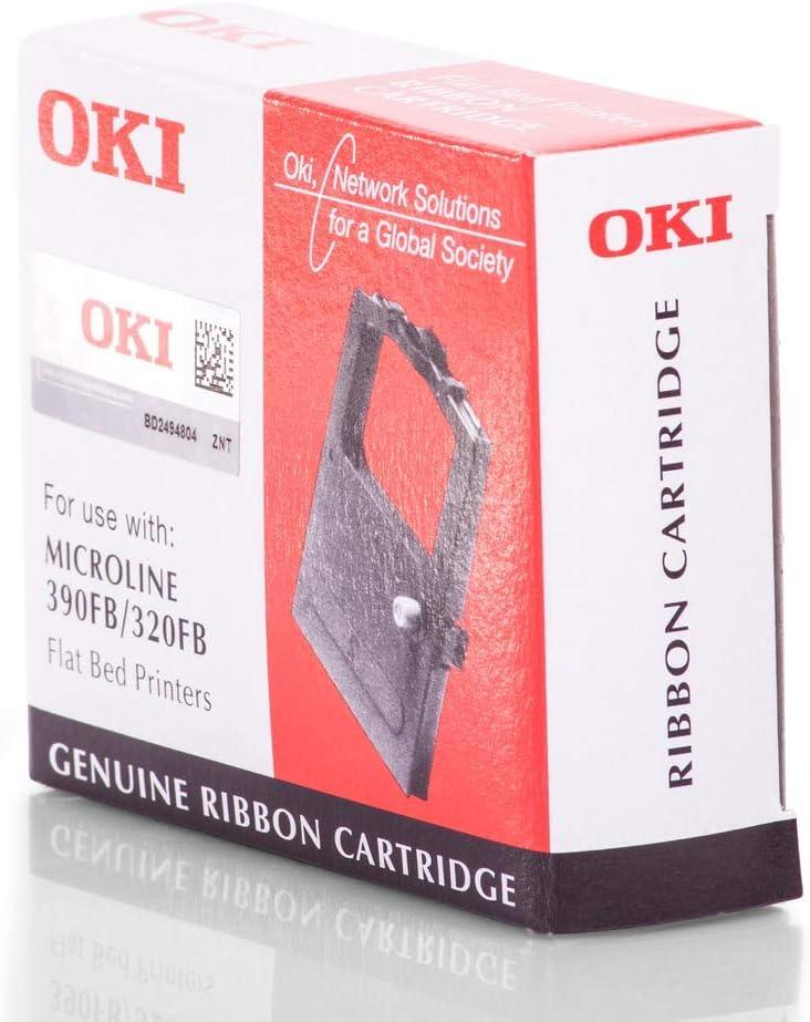 Original Ink Ribbons Compatible With Oki Microline 390 Fb Ml 320fb 09002310 9002310 Premium Nylon Ribbon Black Bürobedarf Schreibwaren