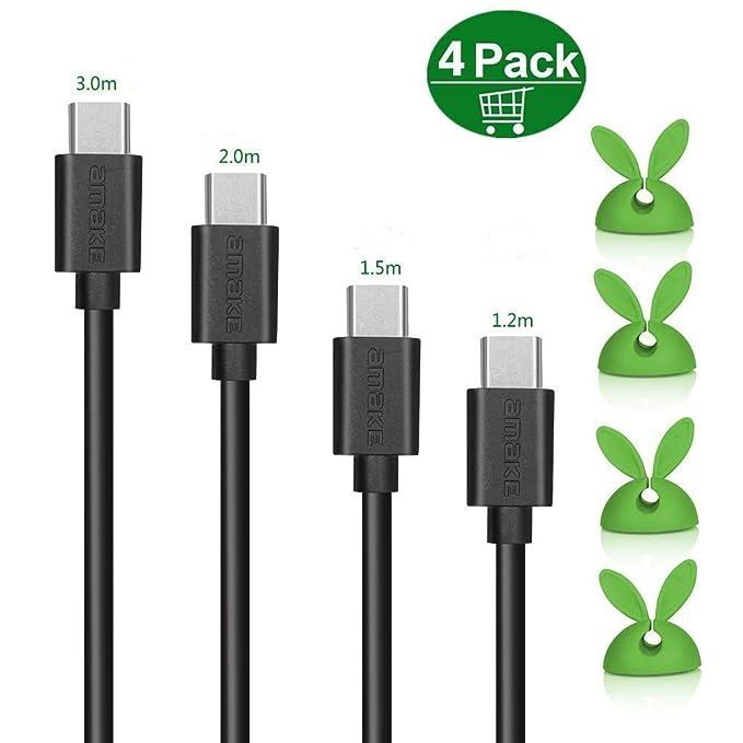 6 opinioni per Cavo USB C a USB A,con Connettore in Alluminio Trasmissione Dati e Carica per