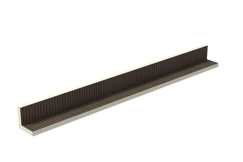 Ultrament Verkleidungselement Rohrkasten 120 x 10 x 10 cm