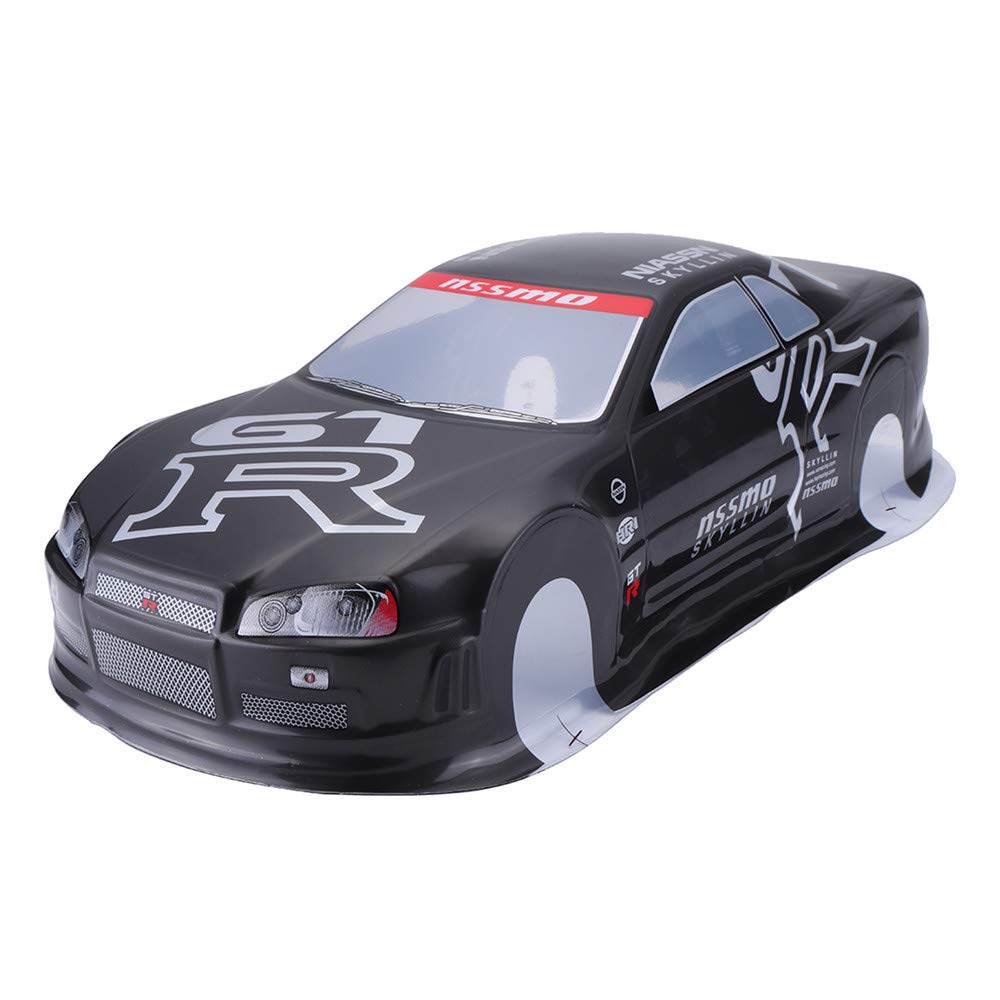 Amazon Com Utini 020gr 190mm Painted Pvc Body Shell Rear Wing For