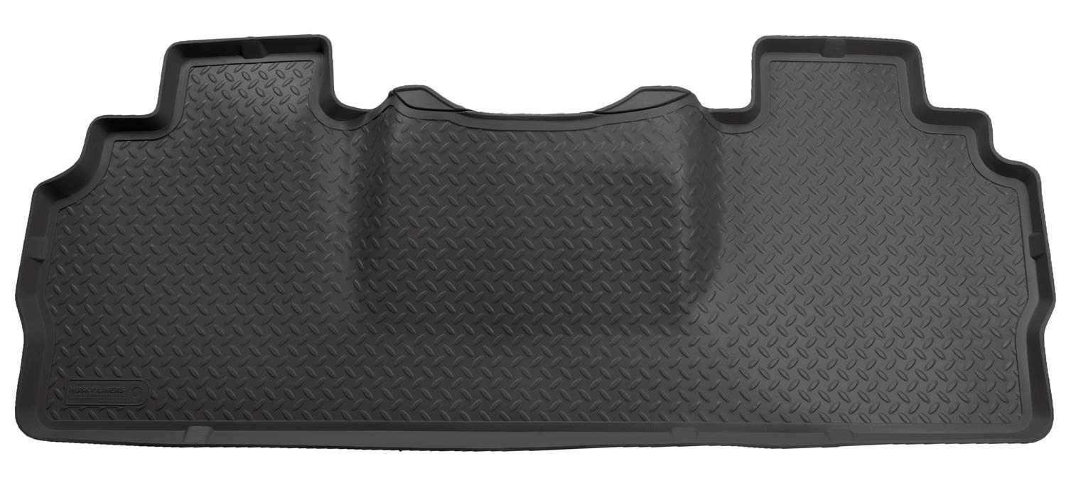 Black Husky Liners Custom Fit Second Seat Floor Liner for Select Dodge Ram Models