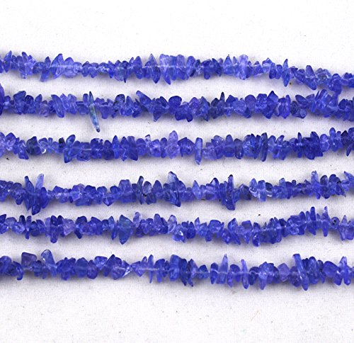 Tanzanite Chip - Ganesh Gems Tanzanite Uncut Chips Beads