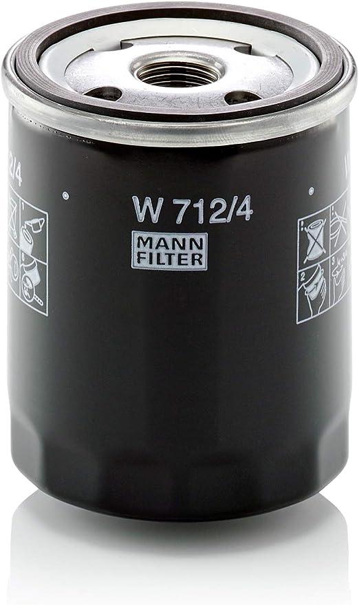Mann Filter W7124 filtro de aceite lubricante: MANN-FILTER: Amazon.es: Coche y moto