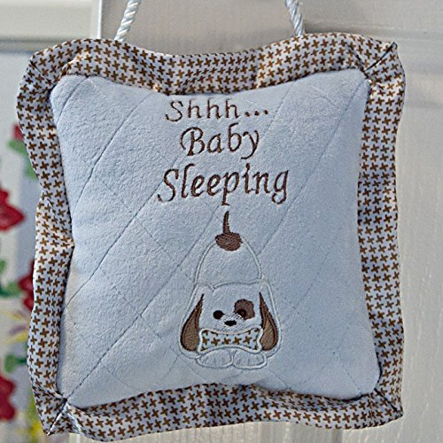 Soft And Comfortable Little Blue Waggles Puppy Sleeper Pillow For Baby