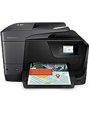 HP OfficeJet Pro 8715 (K7S37A) Stampante Multifunzione a Getto di Inchiostro, Stampante, Scanner, Fotocopiatrice, Fax, Wi-Fi, Ethernet, USB e NFC, con 3 Mesi di HP Instant Ink Inclusi, Nero
