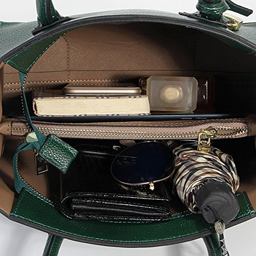 Shoulder Design Top Leather Lf Women body 189 Bag Dissa Green Cross Handbag Fashion Elegant handle w08vA