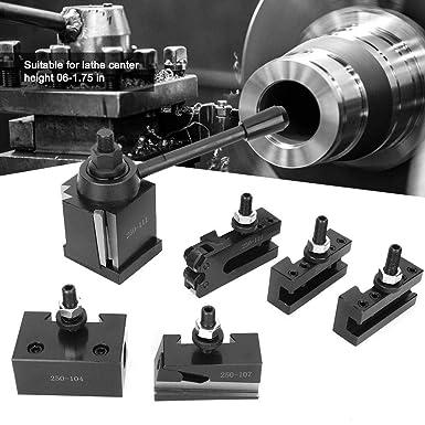 MYFORD et LATHE 90-115 mm de hauteur centrale T37 Kit de poste /à outils /à changement rapide avec 4 supports