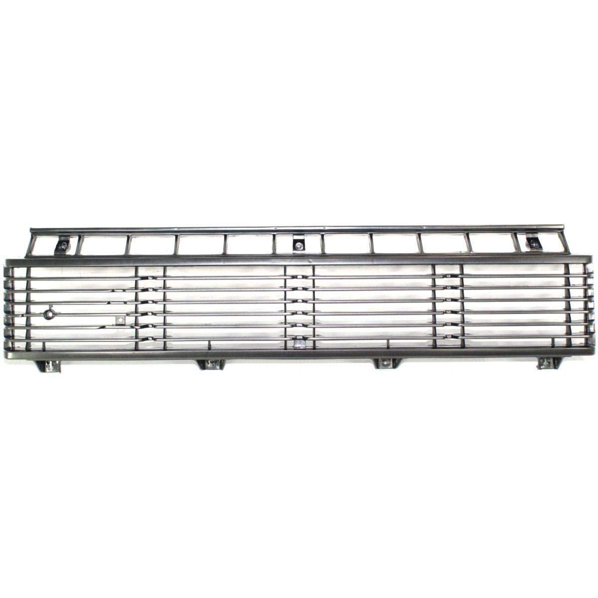 Grille For 79-81 Toyota Pickup Silver Plastic