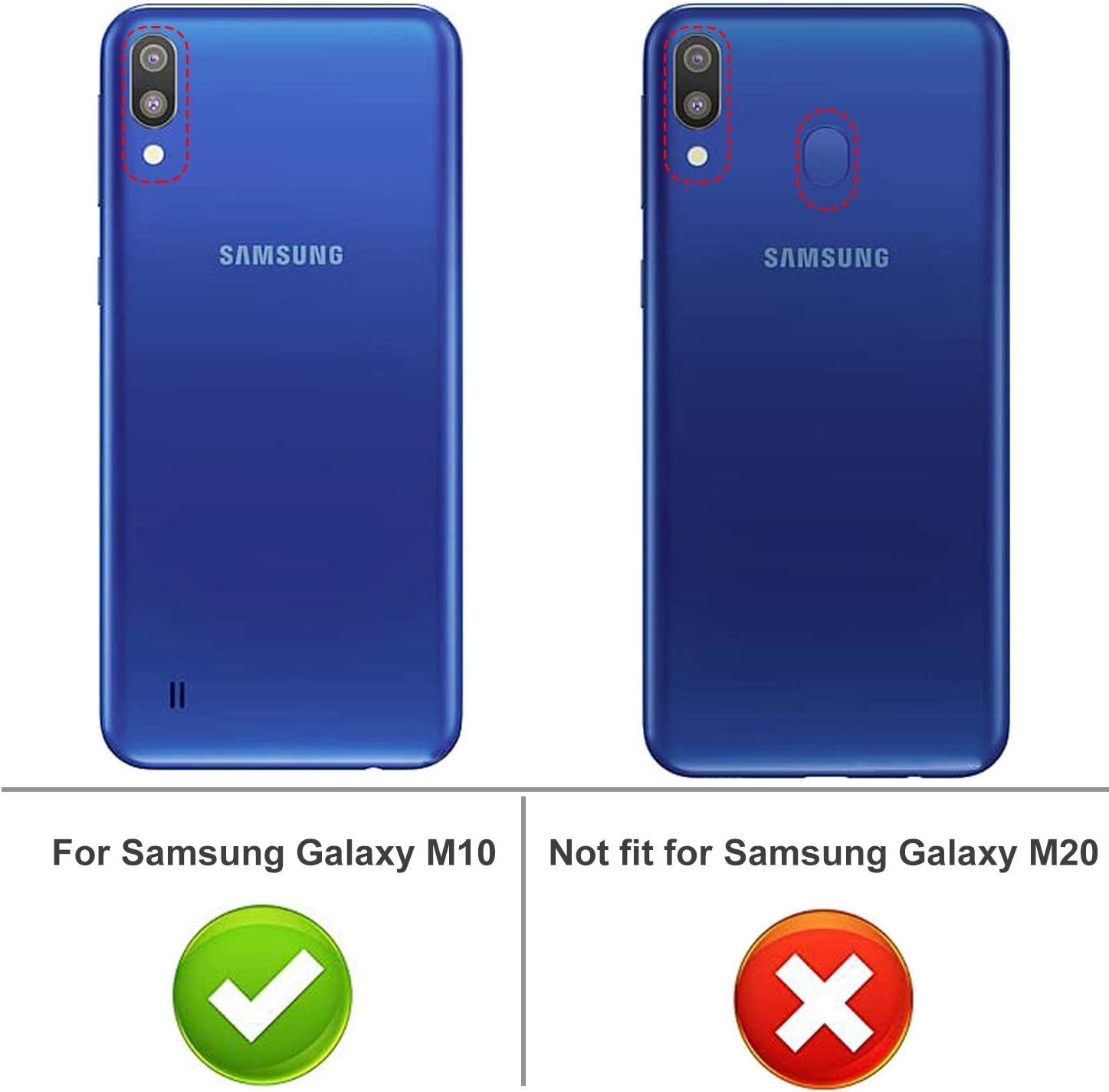 iBetter Samsung Galaxy A10/ M10 Funda, Fina de Silicona, Suave y ...