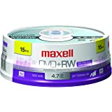 Amazon Com Maxell 635117 4 7 Gb Rewritable Dvd Rw Spindle