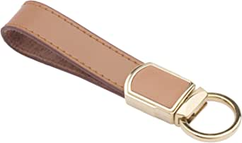 Zobo Zinc Alloy with Leather Car Key Chain