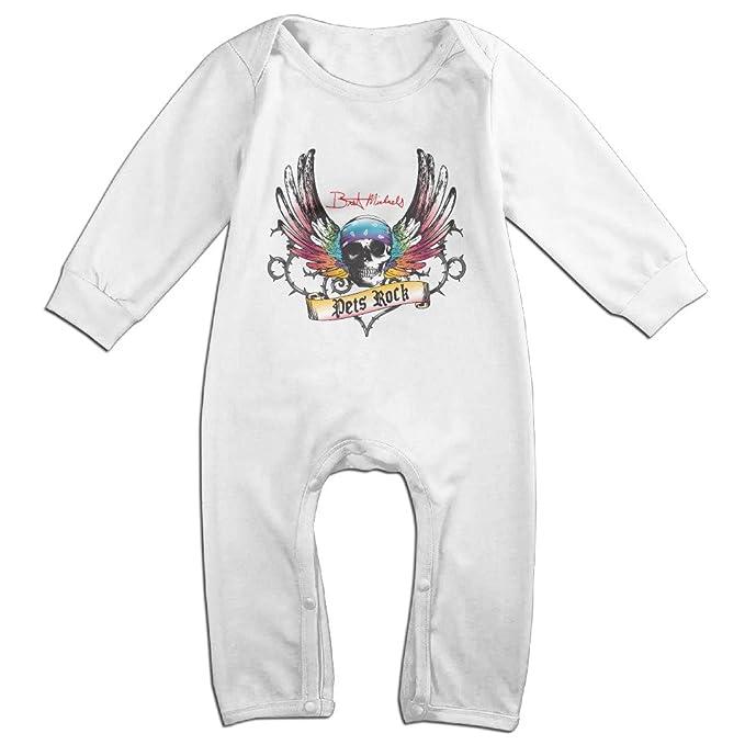 Amazon.com: Bret Michaels logotipo bebé Onesie Romper ...