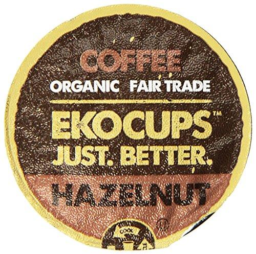 EKOCUPS Artisan Hazelnut Flavored Recyclable