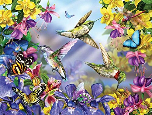 Butterflies & Hummingbirds Jigsaw Puzzle
