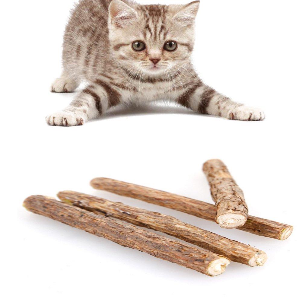 PanDaDa Catnip Sticks 3/4/6/7 Pcs Natural Cat Stick Catnip Chew Sticks Pet Kitten Cleaning Teeth Healthy Care Chew