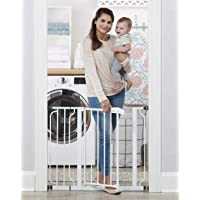 Regalo Easy Step 38.5-Inch (97.75cm) Extra Wide Baby Gate, Bonus Kit, Includes 6-Inch (15.25cm) Extension Kit, 4 Pack…