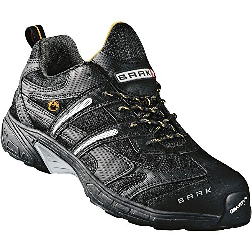 Baak 7542 - Zapatos de seguridad s1p john deportes esd, bgr 191 gris, gris