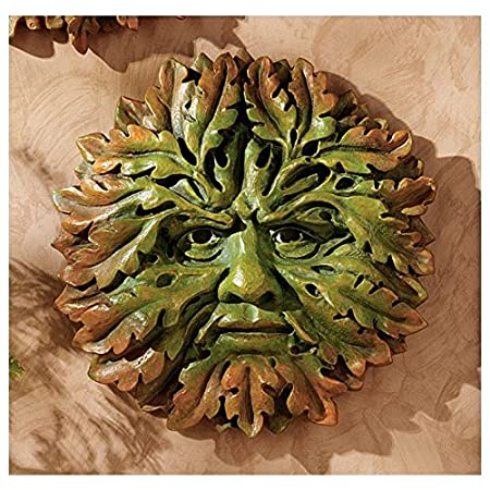 Design Toscano The Somerset Greenmen Sculpture in Faux Verdigris and Bronze