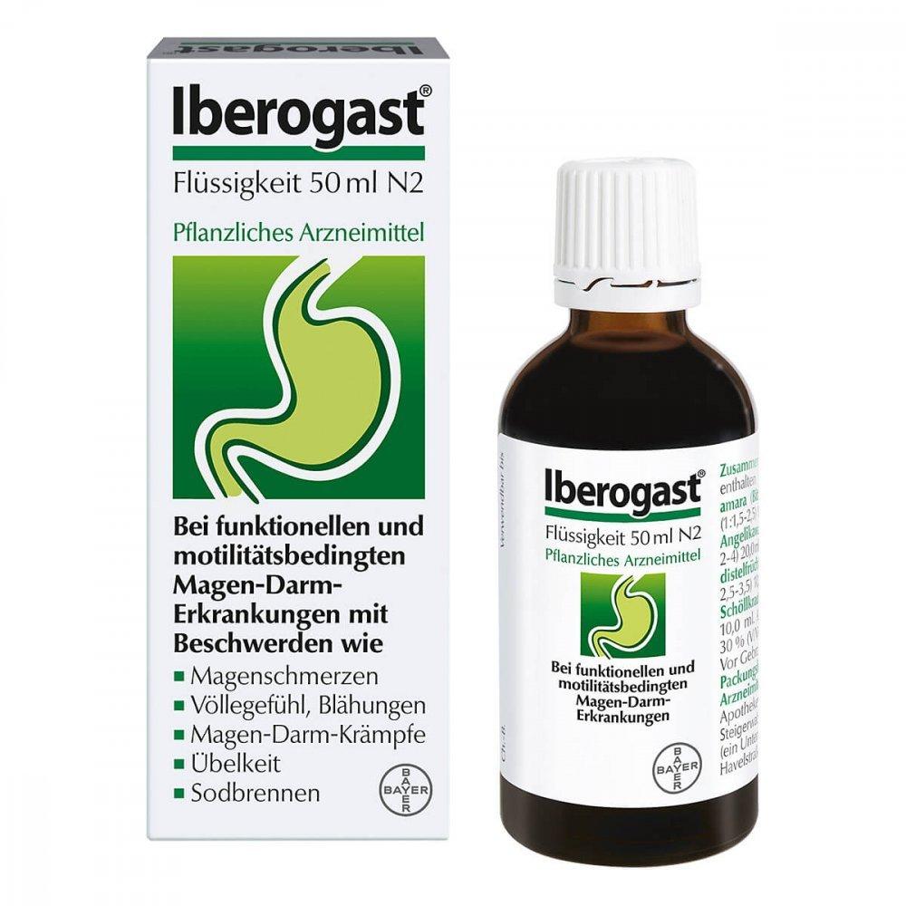 Iberogast Tropfen 50ml N2,拜耳纯植物肠胃调理液