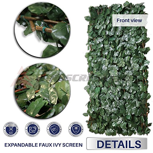 Review Windscreen4less Artificial Leaf Faux