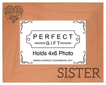 Amazon.com - Sister Floral Heart Banner Graduation Gift Twins Big ...