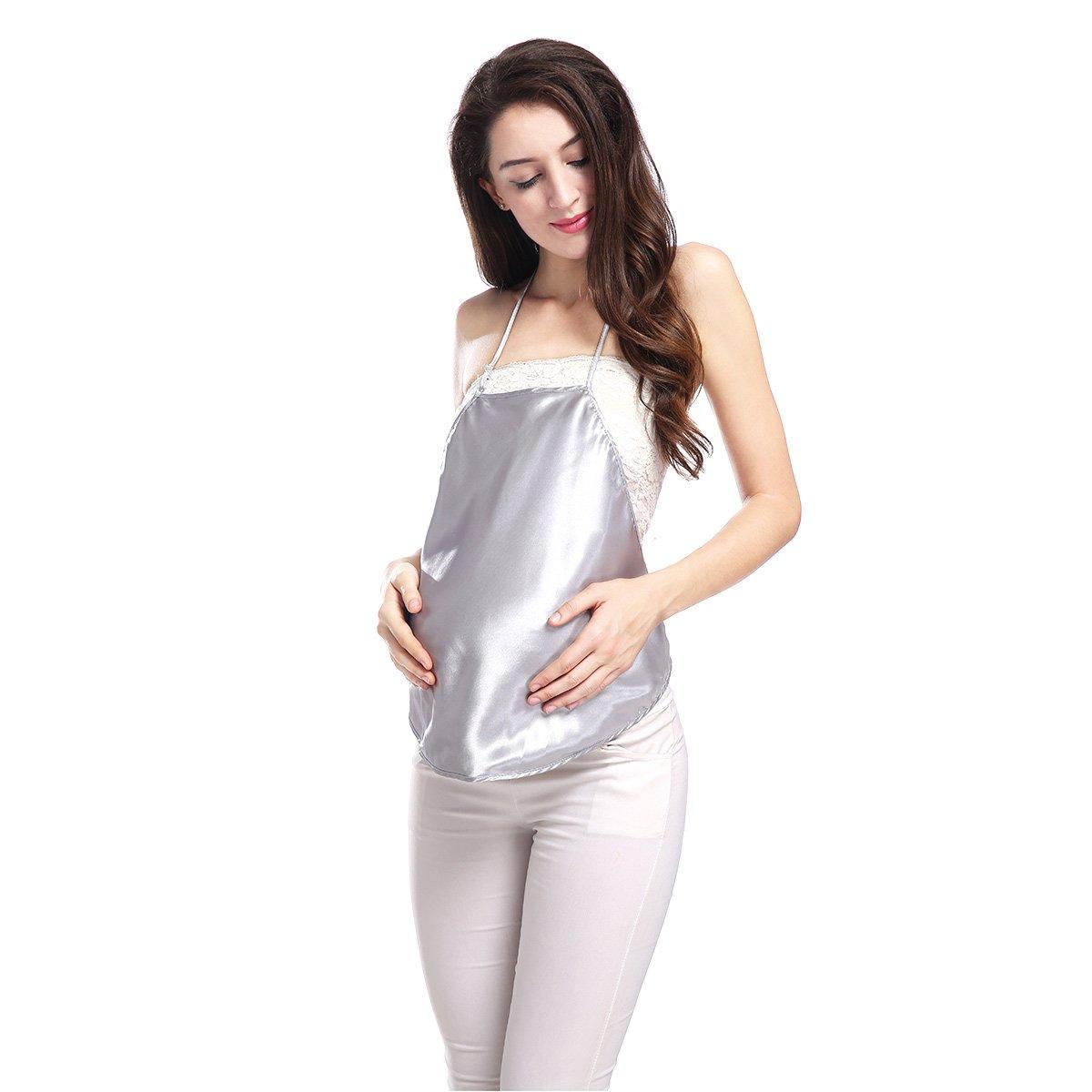 Plata de iones de fibra de protección contra la radiación de ropa de maternidad protección Shm QM002: Amazon.es: Ropa y accesorios