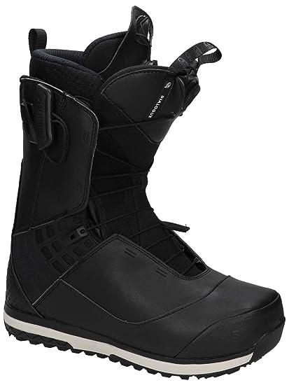 ed8bb622ac Amazon.com : Salomon 2018 Dialogue Black 13.5 Mens Snowboard Boots ...