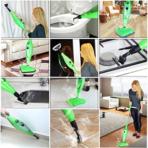 mop x12 steam cleaner for floor carpet window clothes kitchen bathroom